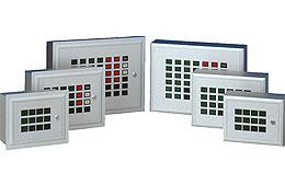 Standard Bedientableaus LED von NLD Electronic