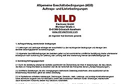 AGB der NLD Electronic GmbH